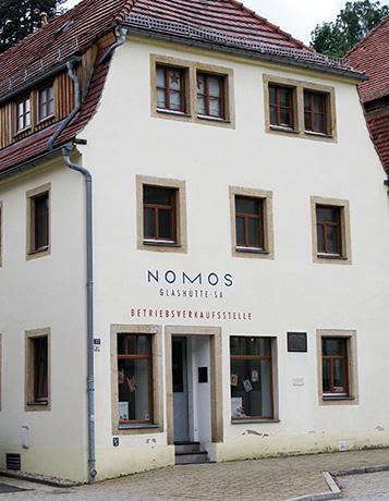 アドルフ・ランゲが初めて工房を構えた建物