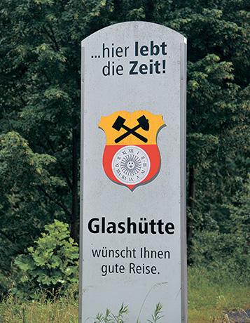 グラスヒュッテの紋章