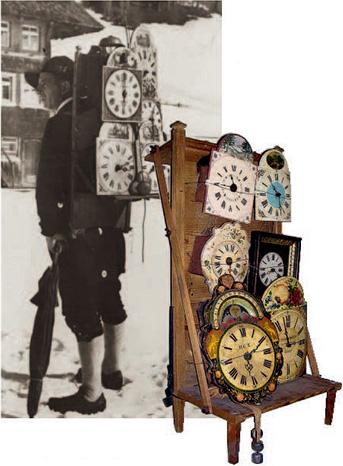 19世紀後半の時計行商人