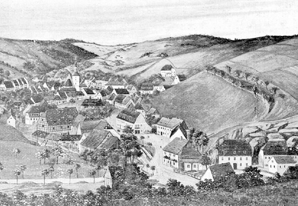 18世紀のグラスヒュッテ