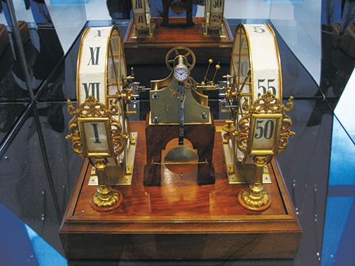 世界最古の5分式デジタル時計