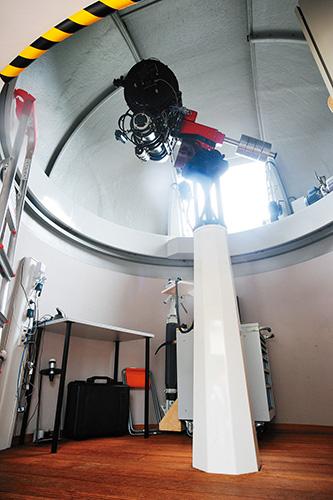 ツァイス製の天体望遠鏡
