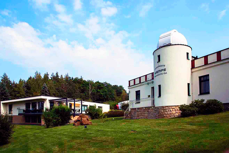 再建されたグラスヒュッテ天文台