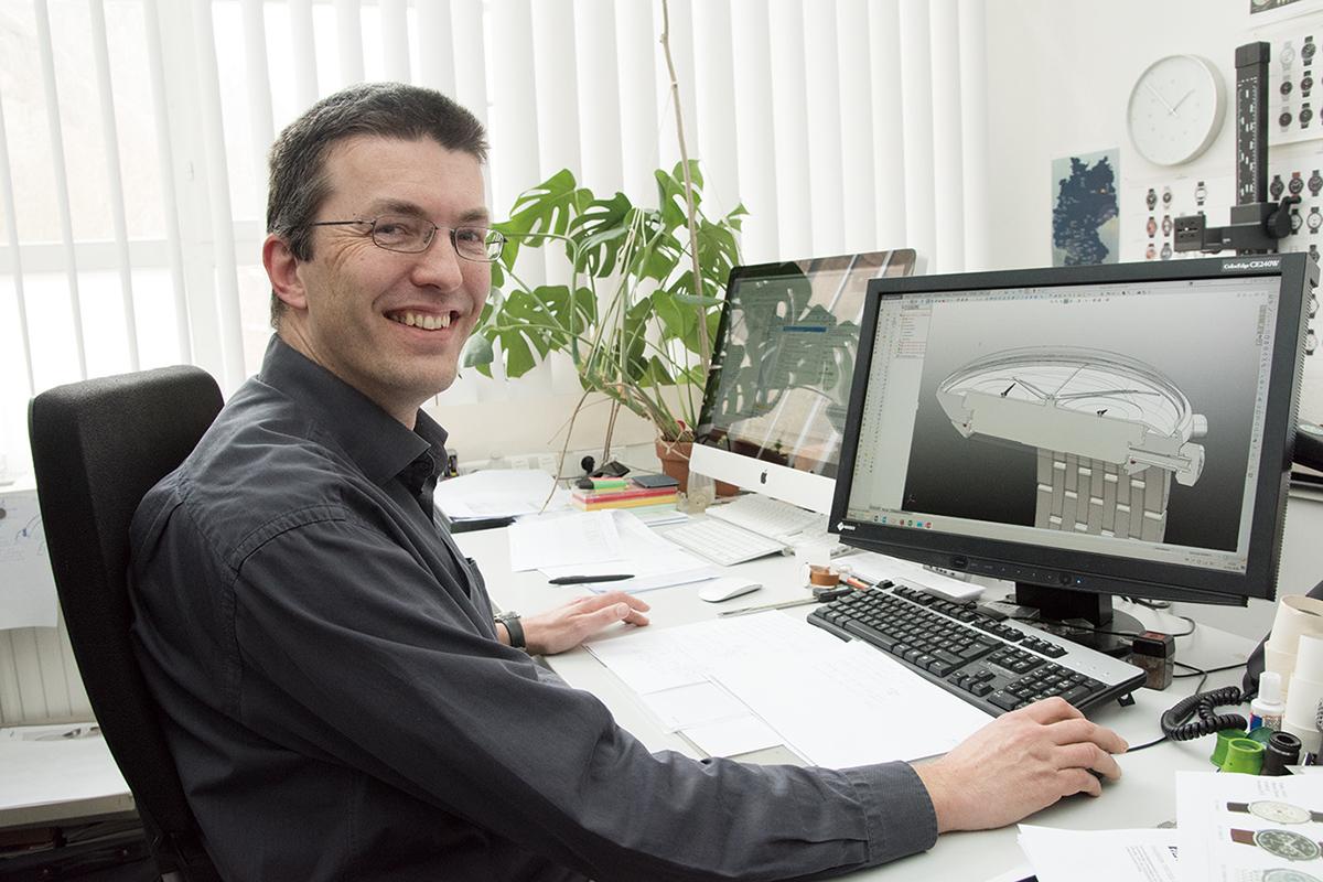 デザイン設計部門のヴォルカー・フックス氏