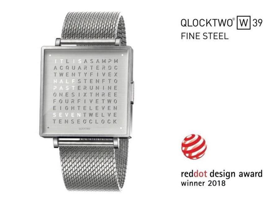 QLOCKTWO W39 レッドドットデザイン賞