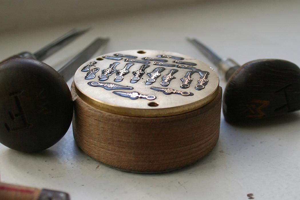 ラング&ハイネの自製針