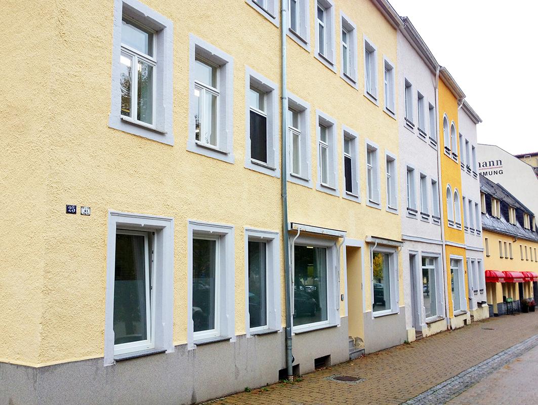 ハウプシュトラーゼに設けた小さな工房兼アトリエ