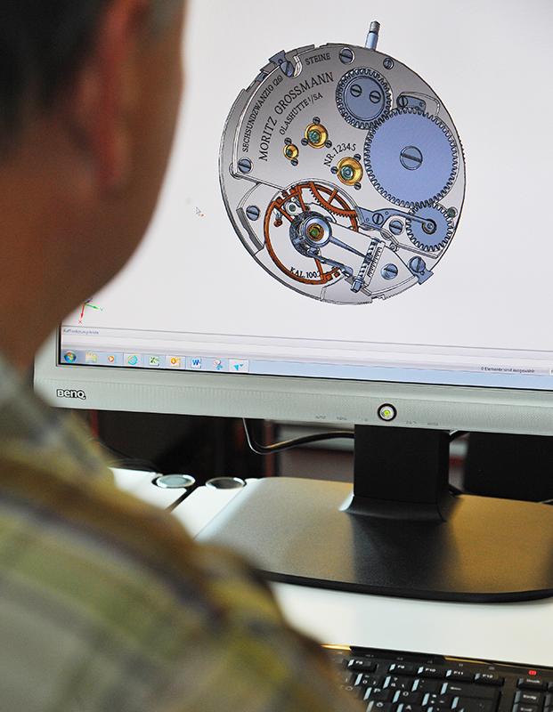 CADによる設計風景
