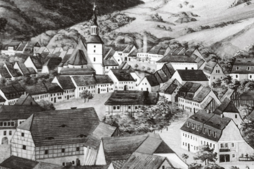 グラスヒュッテの街