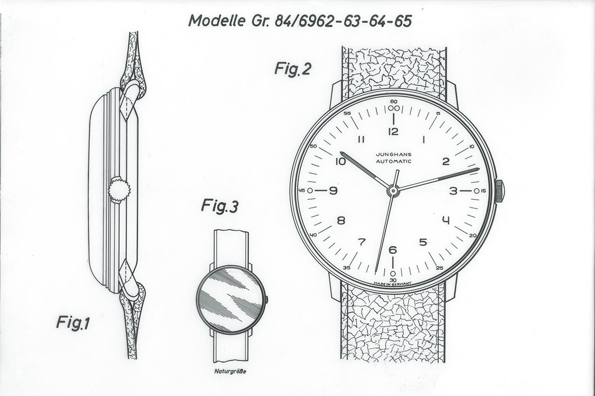 腕時計のデザイン画