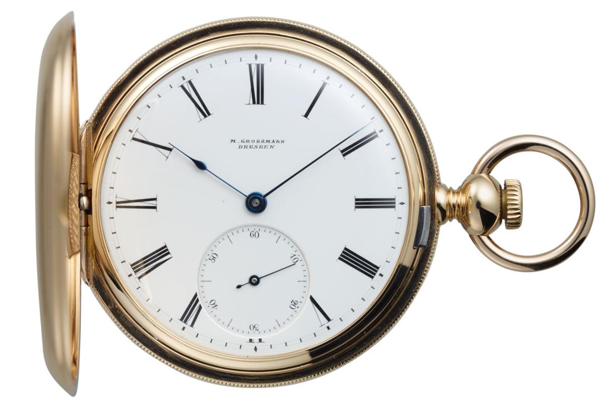 モリッツ・グロスマンが作った当時の懐中時計